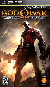 Capa jogo: God Of War: Ghost Of Sparta