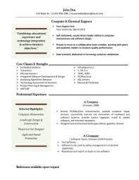 Ms Word Resume Format   Resume Format Download Pdf Brefash