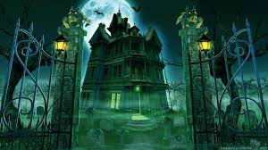spooky halloween background free free animated haunted house wallpaper hd animated haunted house