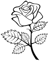 free printable coloring pages roses heart printable of fose