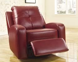 Leather Rocker Recliner Swivel Chair Mannix Swivel Rocker Recliner