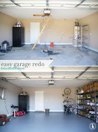 how refinish your garage floor the spray paint grenade easy garage redo