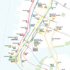 Mta Info Subway Map by A Complete And Geographically Accurate Nyc Subway Track Map