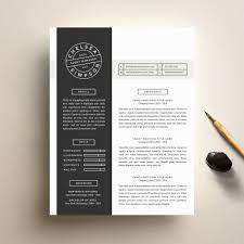 Free Resume Templates      Cover Letter Template For Creative     Modern Resume Template  US Letter       Page Resume Template  Creative  Resume