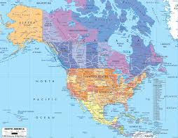 Canada On The Map by Pin Your Favourite Spot On The Map Of North America Roaming Days