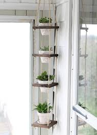 deco nature chic porte plantes à faire soi même sellettes et suspensions pour pots