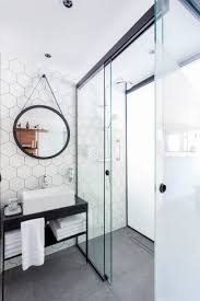 Small Bathroom Wall Ideas by Best 10 Hexagon Tile Bathroom Ideas On Pinterest Shower White