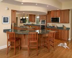 curved island kitchen designs home decoration ideas
