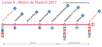 Metro Lines Map by Maps Of The Madrid Subway Lines Line By Line With Extra Info