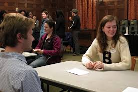 Bowdoin Students Look for Love in All the Right Places   Bowdoin News