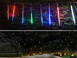 Outdoor Mushroom Lights by 20cm Meteor Shower Rain Led Light Tube String Christmas Tree Party