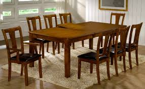 Large Dining Room Tables by 8 Seat Dining Table Modern Square Dining Table Seats 8 Large