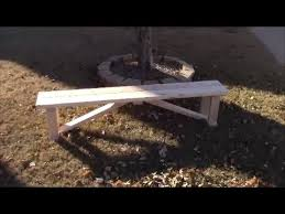 Basic Wood Bench Plans by Beautiful Simple Harvest Farmhouse Bench Diy Youtube