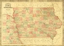 Map Of Iowa State by Ia Land Maps