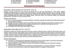 Sample Bookkeeping Resume by Download Bookkeeper Resume Sample Haadyaooverbayresort Com
