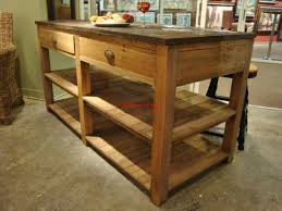 reclaimed wood kitchen island rustic u2014 readingworks furniture