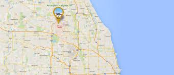 Chicago Suburbs Map Arlington Heights Limo Services Limo Services In Arlington