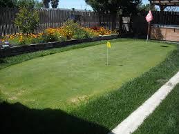 Backyard Golf Hole by Putting Greens Com