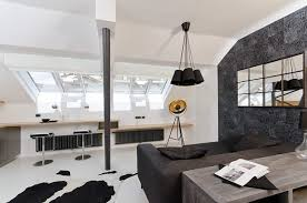 Cow Print Rugs Home Design Minimalist Small Living Space Design With Edgy Black