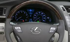 2007 lexus ls 460 interior does your steering wheel airbag cover feel hollow clublexus
