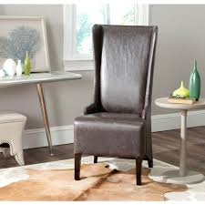 Safavieh Dining Room Chairs by Safavieh Bacall Antique Brown Bicast Leather Dining Chair Mcr4501n