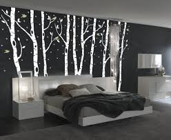 Tree Decal For Nursery Wall by Birch Tree Winter Forest Set Vinyl Wall Decal 1161