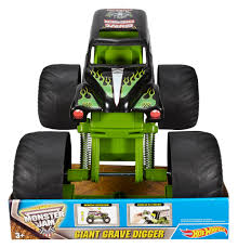 how many monster jam trucks are there wheels monster jam giant grave digger vehicle walmart com