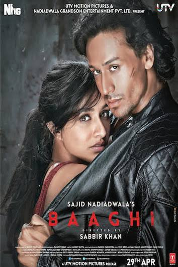Watch Online Hindi Movies BAAGHI 2016 FULL HD