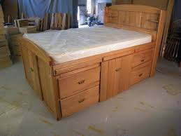 incredible king size platform bed with storage plans and best 25