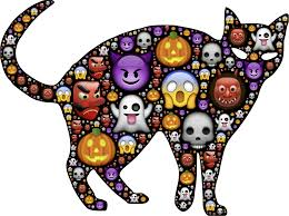 cat halloween clipart colorful halloween cat