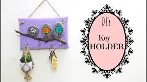 Diy For Home Decor How To Make A Key Holder Diy For Home Decor Using Waste Youtube