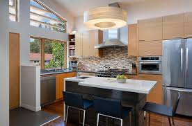 awesome kitchen design picture features cool high gloss yellow