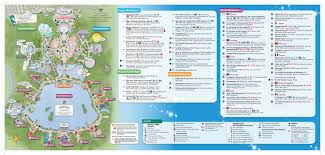 Map Of Downtown Disney Orlando by Epcot Map 2 Dis Blog