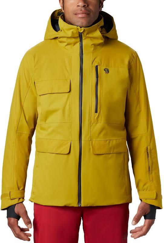 Mountain Hardwear Firefall/2 Insulated Jacket Dark Citron Medium 1851381358-M