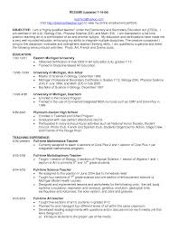 Sample Career Objectives For Resumes by Cover Letter Education Objective For Resume Resume Objective For