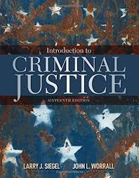 Introduction to Criminal Justice Open Criminology