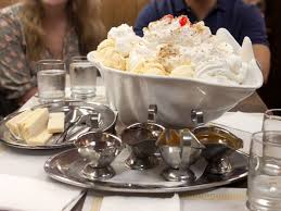 Kitchen Sink Ice Cream Bowl by We Attempt To Eat The World U0027s Largest Terrapin Sundae At Margie U0027s