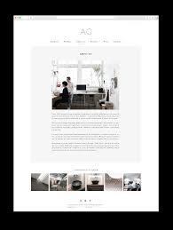 Interior Designer Website by Mery Garriga Website And Logo For Interior Designer