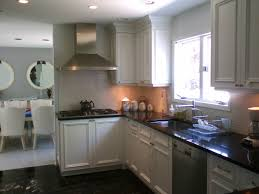 Small Kitchen With White Cabinets Interior Design Small Kitchen Design With White Aristokraft And