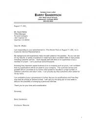 Medical Representative Application Letter Sample