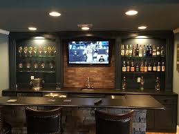 basement wet bar home traditional with dual zone wine refrigerators
