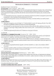 Resume Examples  Example Of Resume Objective With Personal Profile As Project Manager And Professional Experience