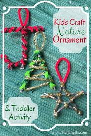 a nature kid u0027s ornament ornament craft and kids s