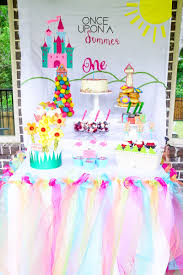 1st Birthday Decoration Ideas At Home Once Upon A Summer First Birthday Ideas That U0027ll Wow Your Guests