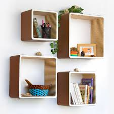 Simple Wall Shelves Design Creative Idea Awesome Modern Square Wall Shelves For Collections
