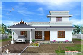 Single Story Houses Single Floor House Plans Or By 2bhk Independent Single Story House