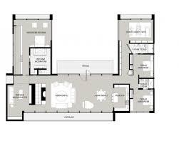 u shaped floor plans gorgeous 20 house plans u shaped house with