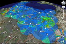 Wisconsin Weather Map by Wxanalyst Virtual Globe Radar Project Google Earth Kml Kmz