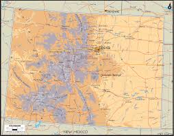 Peyton Colorado Map by Map