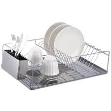 Dish Racks  Drainers Youll Love Wayfair - Kitchen sink dish rack